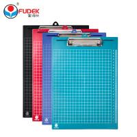 富得快 HY6101/6102 板夹 A4 PP塑料 带刻度 记事板 写字板 单个装点菜垫板夹
