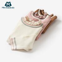 【2件8折】迷你巴拉巴拉女幼童针织衫2018秋季新款儿童长袖针织衫女宝宝毛衣