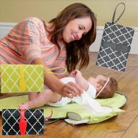 婴儿尿布 男女婴儿创意便携垫储物可折叠防水宝宝隔尿垫