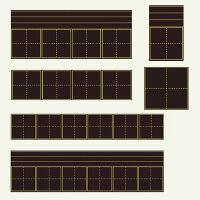 教学磁力黑板磁性英语四线三格黑板贴加厚教师用田字格写字板软小黑板条拼音格磁力铁教具