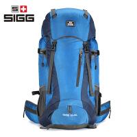 瑞士SIGG登山包双肩男60L女70L80L升大容量旅行包户外背包旅游包