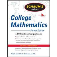 英文原版 大学数学大纲,第四版 Schaum's Outline of College Mathematics, Fo