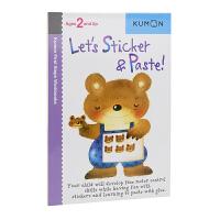 Kumon Let's Sticker & Paste 公文式教育 贴一贴1 幼儿启蒙学习 打造天才大脑的益智手工 儿