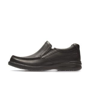 【香港现货】Clarks/其乐男鞋2017秋冬新款套脚一脚蹬商务休闲皮鞋Keeler Step专柜正品直邮
