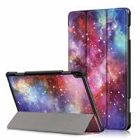 联想Tab P10 TB-X705F 10.1寸保护套平板电脑防摔全包彩绘皮套壳 彩绘-银河系