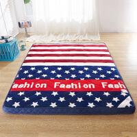 加厚8-10cm法莱绒床垫床褥立体榻榻米垫被学生宿舍单人双人1.5m 1.8米床褥子
