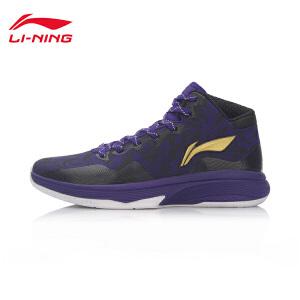 李宁男子减震篮球鞋LN ONE中帮男运动鞋ABPL081-4