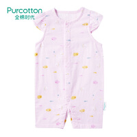 全棉时代 婴儿纱布无袖连体衣 1件装