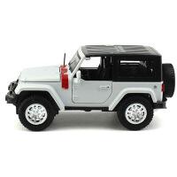 jeep合金仿真原�S�模 �[件 1:24吉普牧�R人越野汽�模型