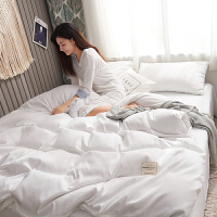 网红同款床上四件套全棉纯棉被套床品水洗棉床单被罩用品少女心 适合1.8m床【被套200*230】 床笠款