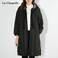 2020冬新款羽绒服女休闲韩版简约90白鸭绒保暖羽绒外套女