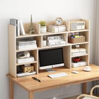 【爆款】桌上书架简易书柜办公桌面书桌收纳学生宿舍整理置物架多层小书架