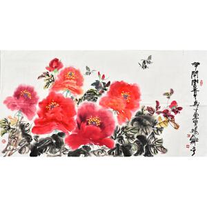 中国国画家协会会员杨和平花鸟画gh02008