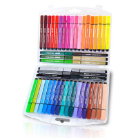 【全场满100减40】晨光儿童幼儿园学生用水彩笔套装24/48/36色可水洗无毒彩色绘画笔