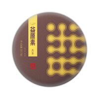 大益普洱茶益原素熟茶357g第三代智能发酵技术茶饼(1饼)