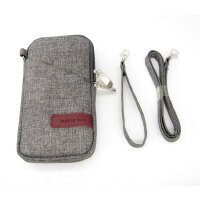 黑莓KEY2诺基亚X5/6/8 Sirocco老年人手机保护皮套壳挂脖内胆包袋