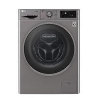 LG洗衣机WD-BH451F7Y 9公斤 洗烘一体机 DD变频电机 智能手洗 中途加衣 95°煮洗 洁桶洗 滚筒 奢华