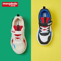 mongdodo梦多多童鞋儿童运动鞋秋季2019新款潮流舒适透气活力休闲鞋