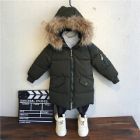 男童棉衣儿童冬季棉袄男孩宝宝冬装外套中长款
