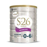 新西兰S26惠氏 金装婴幼儿配方牛奶粉1段(0-6个月宝宝) 900g(产地:新西兰)