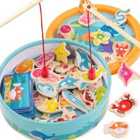 宝宝小猫钓鱼玩具磁性开发婴儿童1两2周岁3半0小孩益智力女孩男孩