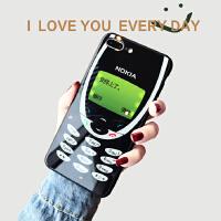 复古诺基亚苹果xsmax手机壳iphone8plus创意6s情侣全包7p潮男女xr 苹果Xsmax 安排上了