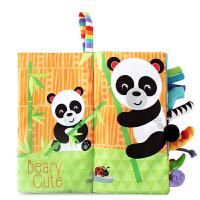 婴儿布书玩具宝宝儿童撕不烂可水洗早教启蒙套装礼物 6本盒装早教布书