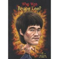 【现货】英文原版 Who Was Bruce Lee? 李小龙是谁 名人认知系列 中小学生读物
