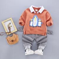 宝宝秋装套装儿童衣服1-3岁小男童秋季运动两件套