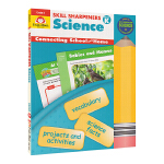 Evan-Moor Skill Sharpeners Science Grade K 幼儿园科学练习册 美国加州小学教