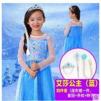 冰雪奇缘公主裙儿童公主裙女童迪士尼爱莎安娜演出服裙子儿童服装支持礼品卡支付