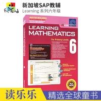 【首页抢券300-100】SAP Learning Mathematics 6 新加坡数学 小学六年级数学练习册 新加坡