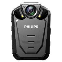 【送64G高速卡包邮】飞利浦(PHILIPS)VTR8210 执法取证 便携音视频 执法记录仪 1296P高清红外广角