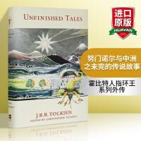 华研原版 努门诺尔与中洲之未完的传说故事 正版进口英文原版小说 Unfinished Tales 霍比特人指环王系列外