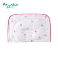全棉时代 小兔杯子婴儿纱布多用枕33x23cm1个装