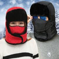 帽子男女士冬季雷锋帽冬天户外防寒骑车帽滑雪防风冬帽