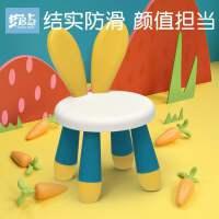 儿童积木桌小兔椅多功能拼装宝宝凳子桌椅套装女孩益智力动脑玩具