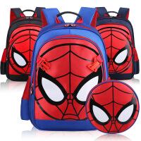 蜘蛛侠书包小学生 男生儿童背包6-12周岁1-3-6年级小孩书包