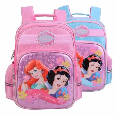 女童书包 迪士尼0404白雪公主双肩包 小学女生创意背包 卡通书包