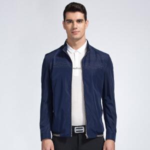 才子男装(TRIES)夹克 男士2017新款纯色简约百搭时尚休闲夹克 三色可选