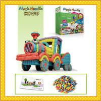 米米妙妙魔法玉米粒儿童益智玩具400粒魔法玉米DIY拼装手工益智科教儿童玩具5824