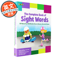 Sight Words:The Complete Book of Sight Words 高频词完整手册【英文原版 汪