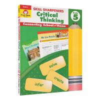 Evan-Moor Skill Sharpeners Critical Thinking Grade 5 小学五年级批
