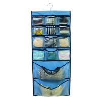 挂式包包收纳袋墙上挂袋多层门后布艺衣橱衣柜牛津布悬挂式整理袋
