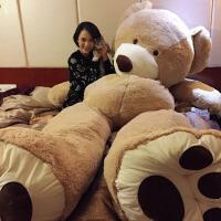 毛绒玩具公仔1.6米熊送女友抱抱熊2米布娃娃女生