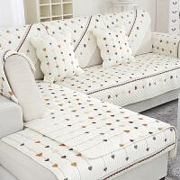 【支持礼品卡支付】棉质布艺 沙发垫 订做皮布艺沙发套沙发布沙发床套罩欧式中式沙发盖布单人双人三人组合沙发
