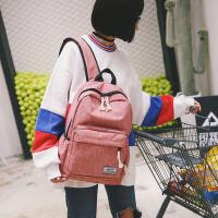 芭特莉简约双肩包男女韩版中学生大容量旅行背包学院风电脑休闲包