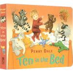 英文原版绘本 Ten in the Bed 吴敏兰书单 Penny Dale 儿歌绘本纸板书