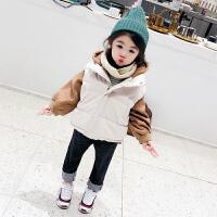 女童宝宝小童秋冬女童儿童马甲秋装两件外套