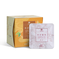 大益茶庭 陈皮普洱熟茶 原叶三角立体袋泡茶便携茶包12袋